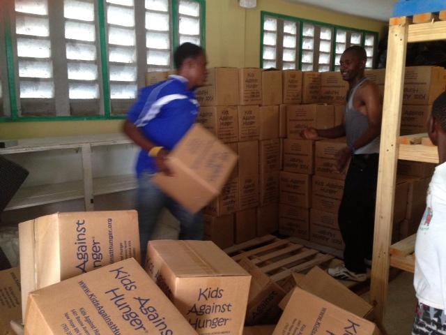 haiti food delivered